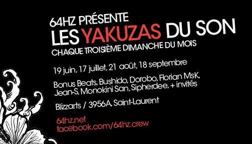 Les Yakuzas Du Son: 19e Chanson - Flyer back