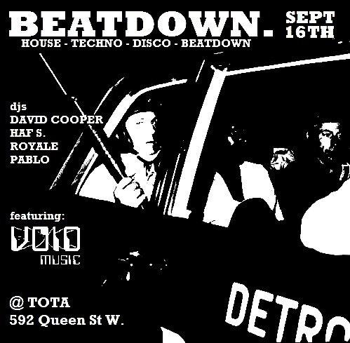Beatdown - Flyer front
