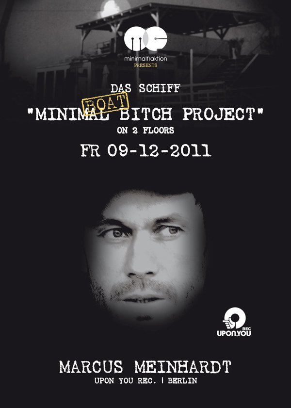Minimal Boatbitch Project with Marcus Meinhardt - Flyer front