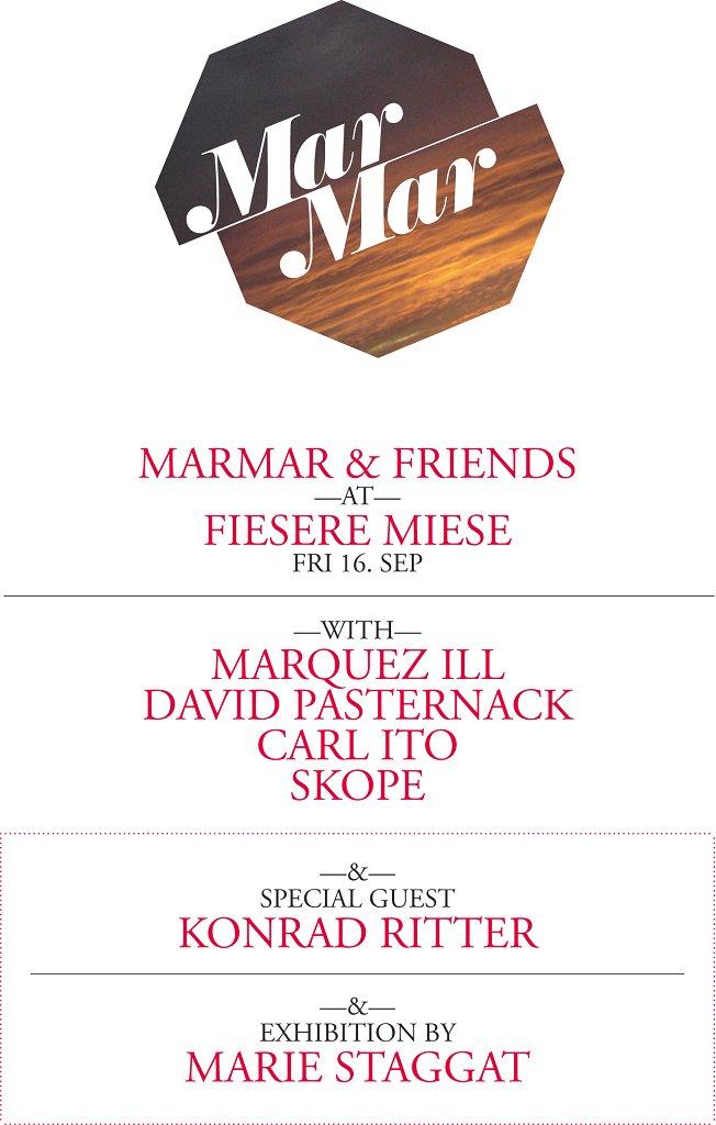 Marmar & Friends - Flyer front