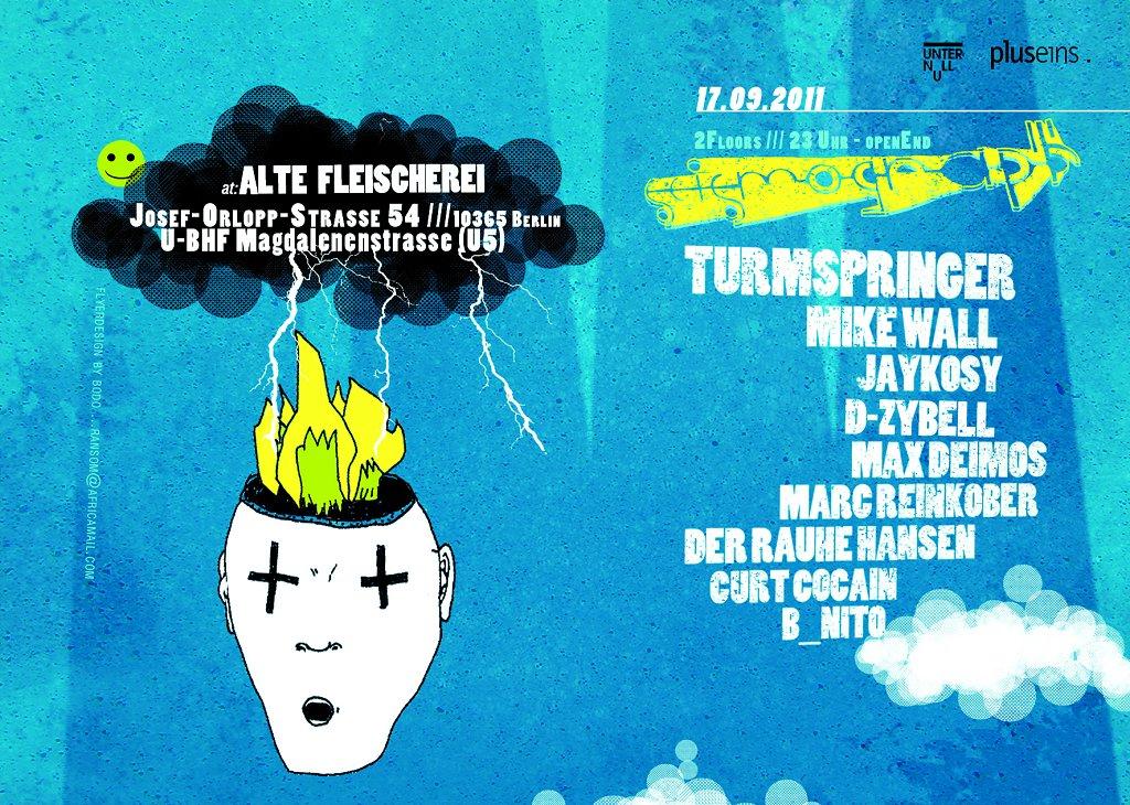 Alte Fleischerei - Flyer back