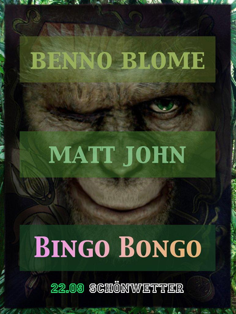 Bingo Bongo - Flyer front