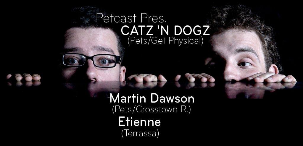 Petcast Pres - Flyer front