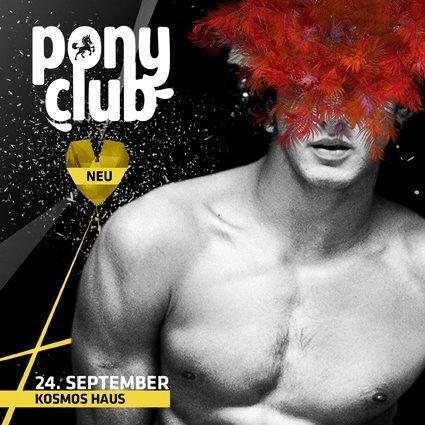 Ponyclub - Der Große Stallumzug - Flyer front