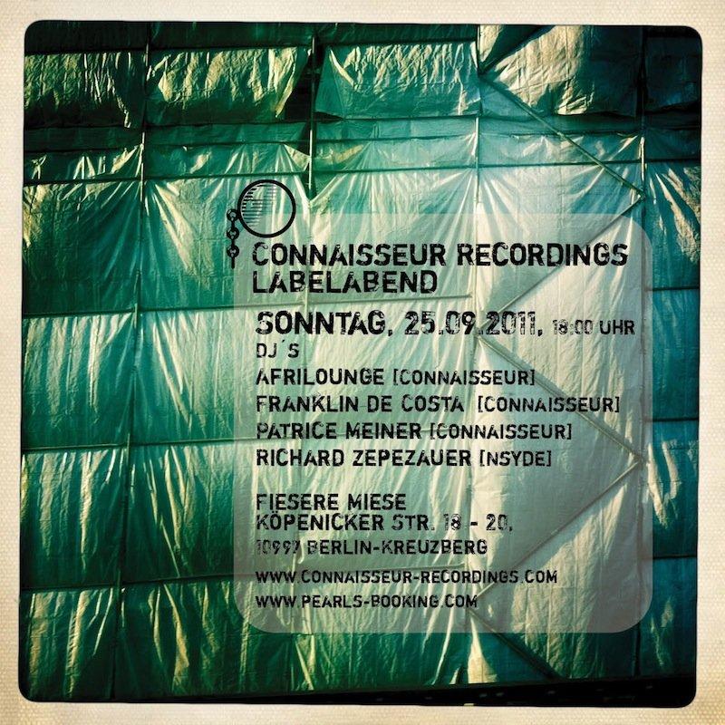 Conaisseur Labelabend - Flyer front