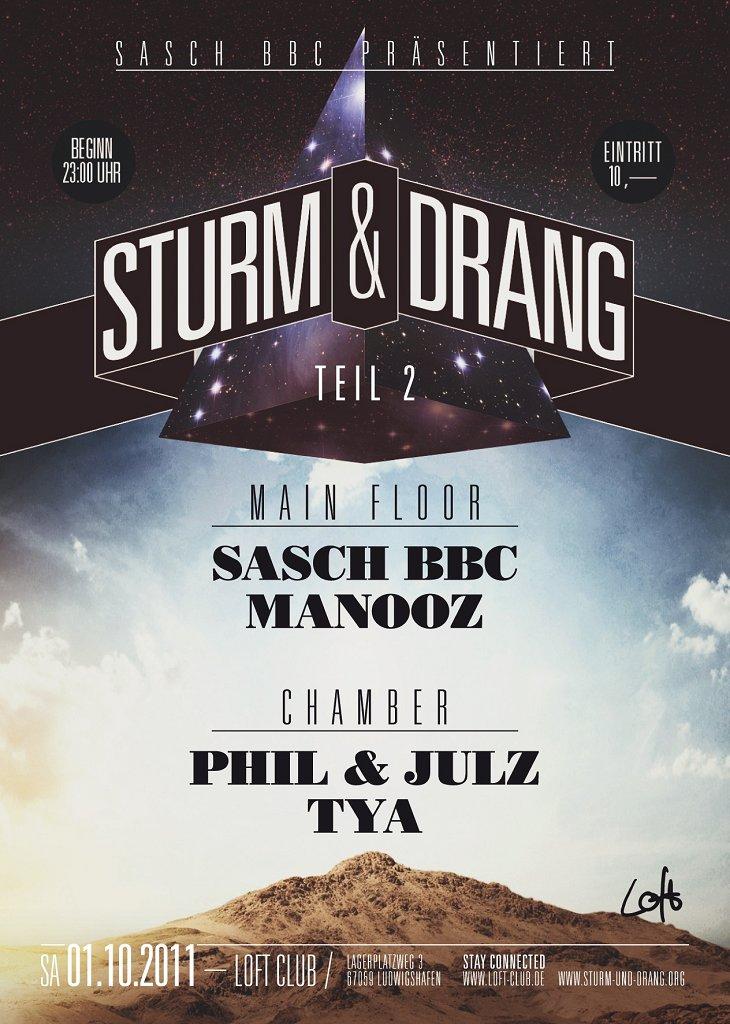 Sturm & Drang - Flyer front