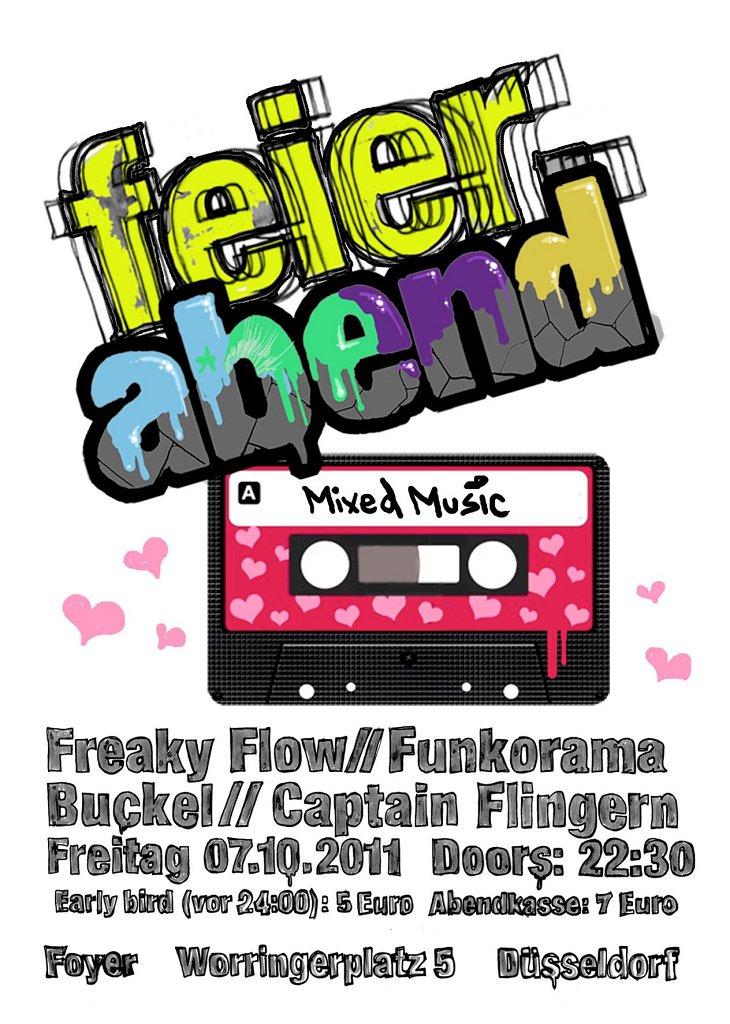 Feierabend - Flyer back