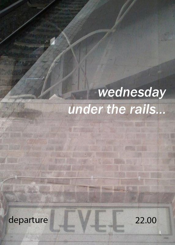 Wednesday Under The Rails - Flyer back
