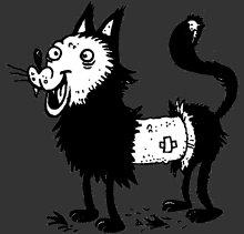 Rubbel Die Katz - Flyer front