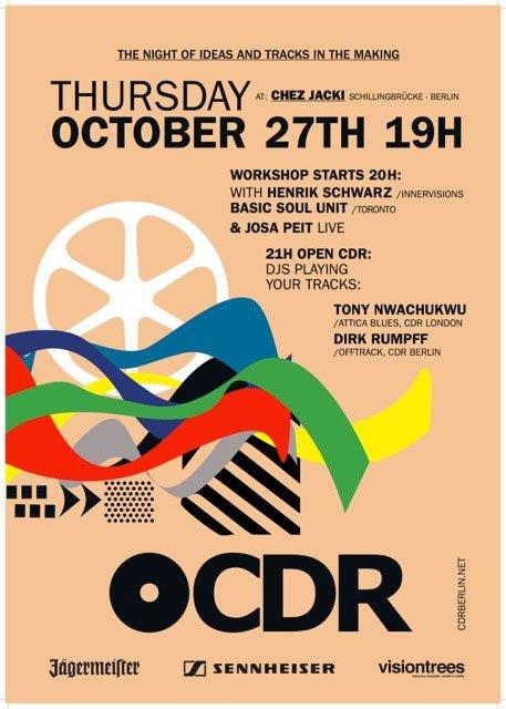 Cdr Berlin Workshops with Henrik Schwarz & Basic Soul Unit, Josa Peit Live - Flyer back