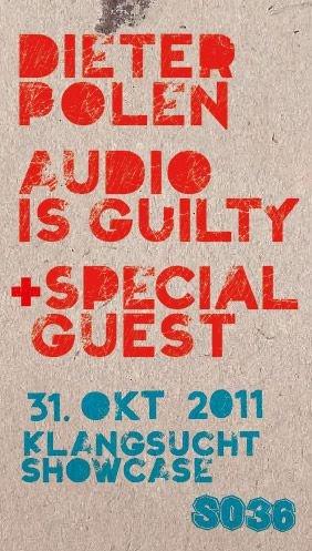 Klangsucht Showcase - Flyer front