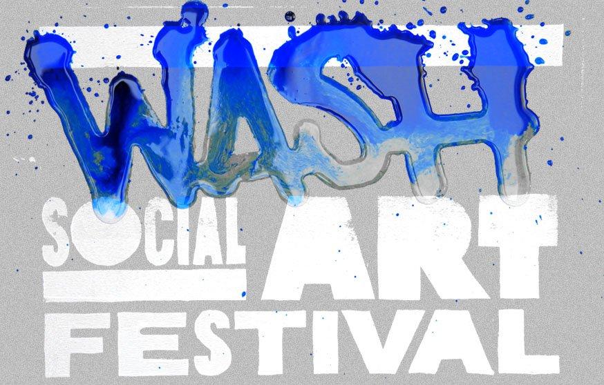 Washfestival - Deep Aid - Flyer front