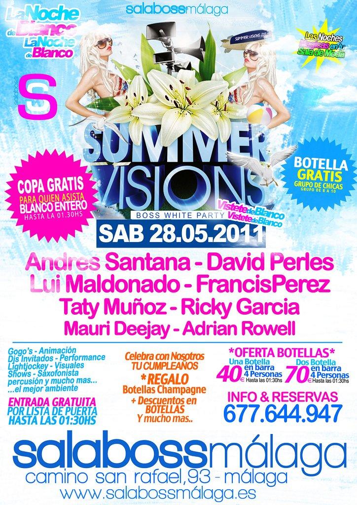 Summer Vision - Flyer front
