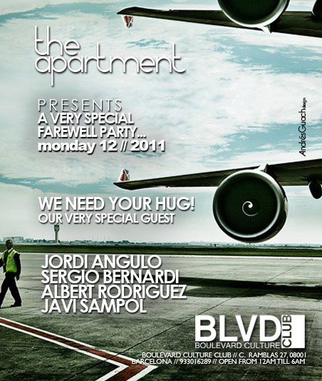 Goodbye Barcelona - Special Farewell - Flyer front