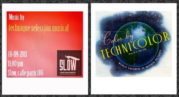 Technicolor Party (Una Nueva Definición Del Color ;) - Flyer front