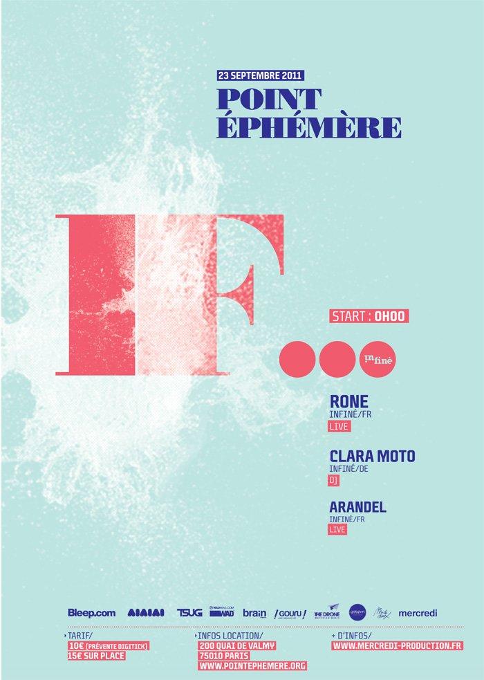 If... - Rone, Arandel & Clara Moto - Flyer front