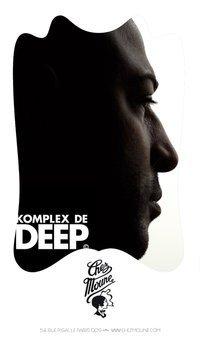 Komplex De Deep Session #4 - Flyer front