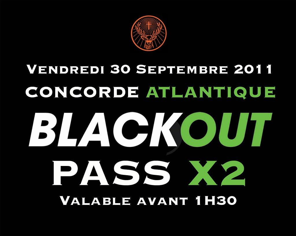 Blackout - Flyer back