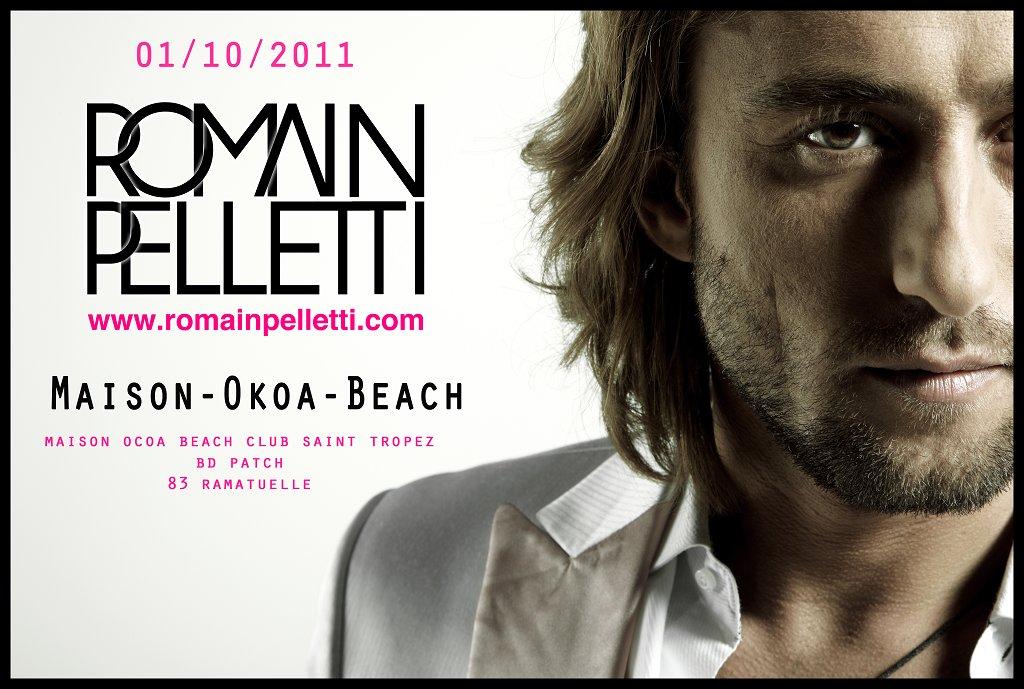 Romain Pelletti & Friend's Closing Summer 2011 - Flyer front