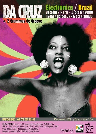 Da Cruz 2 Grammes 2 Groove - Flyer front