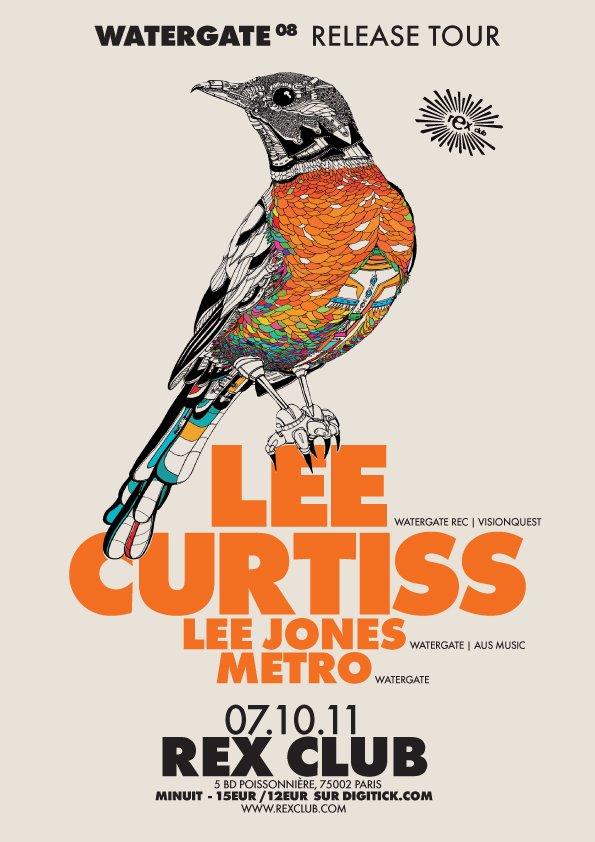 Watergate Night - Sebo K, Lee Jones and Metro - Flyer front