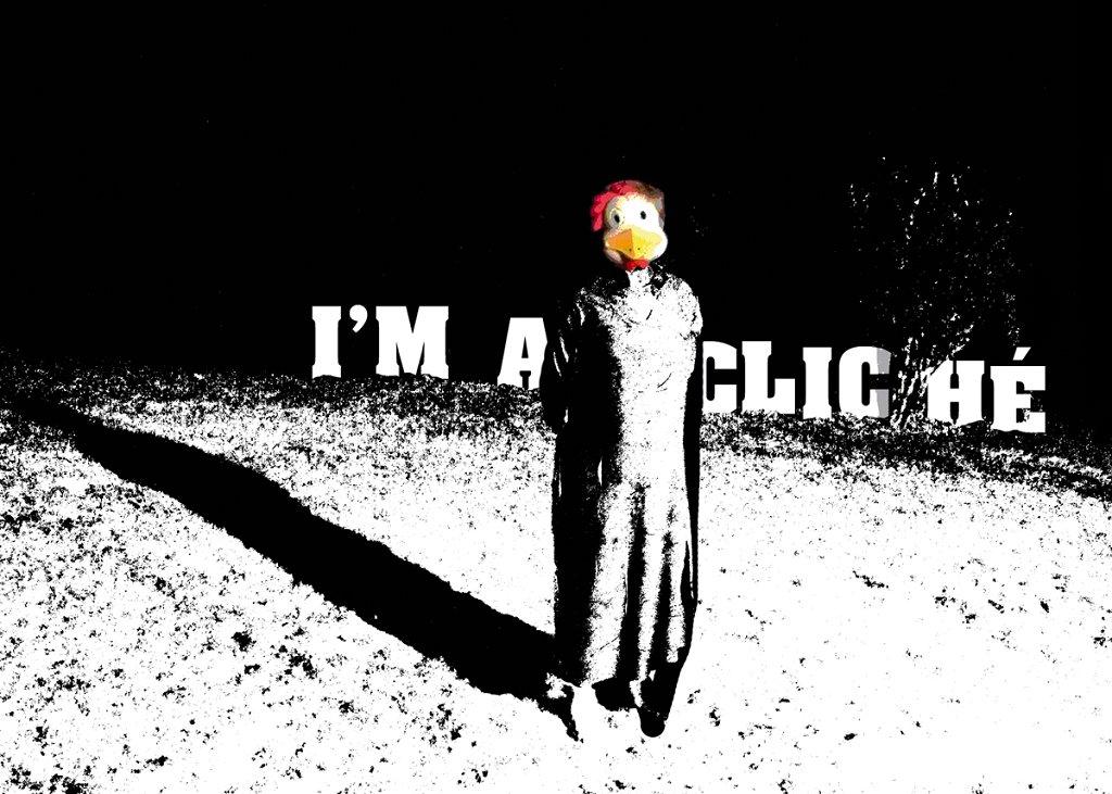 I'M A Cliché - Flyer front