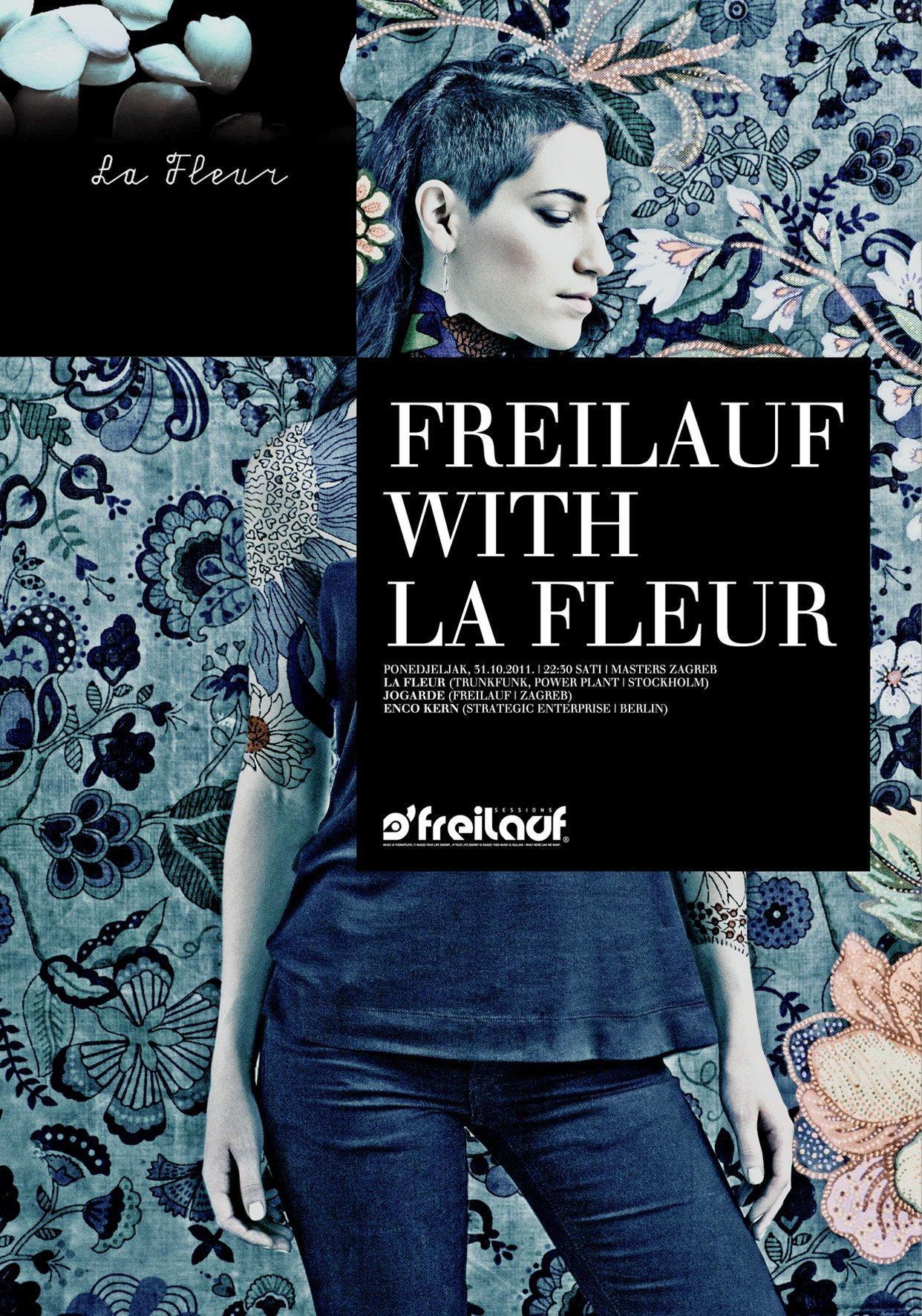 Freilauf with La Fleur - Flyer back