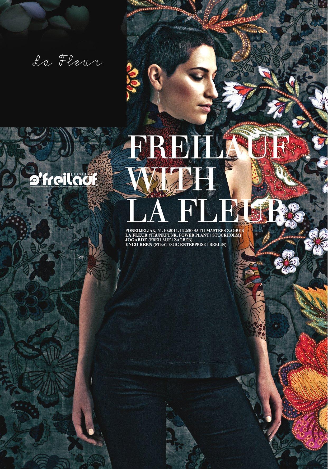 Freilauf with La Fleur - Flyer front