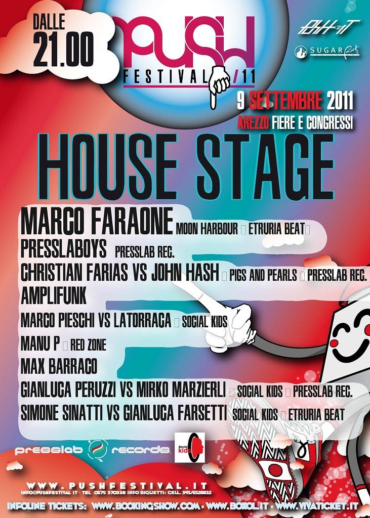 Push Festival - Arezzo Fiere E Congressi - Flyer back