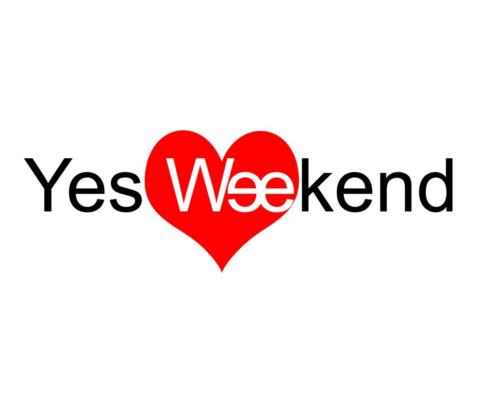 Yes Weekend - Flyer front