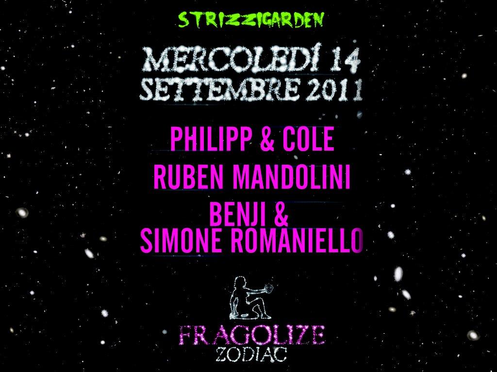 Fragolize Zodiac - Flyer front