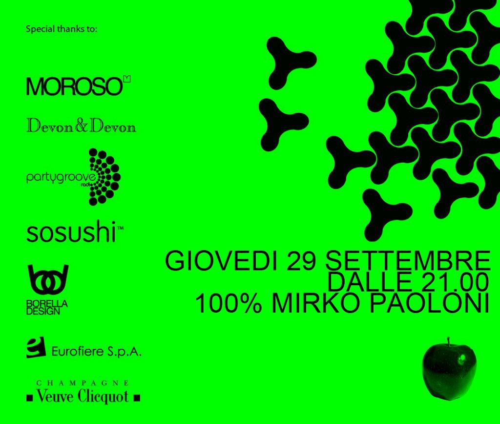 One Apple::mirko Paoloni - Flyer front