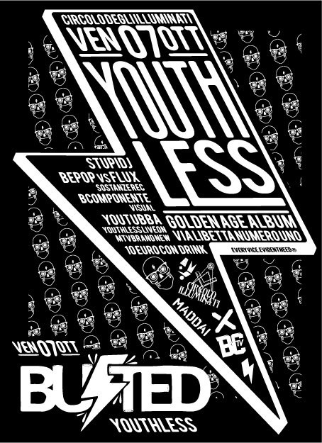 Youthless - Flyer front