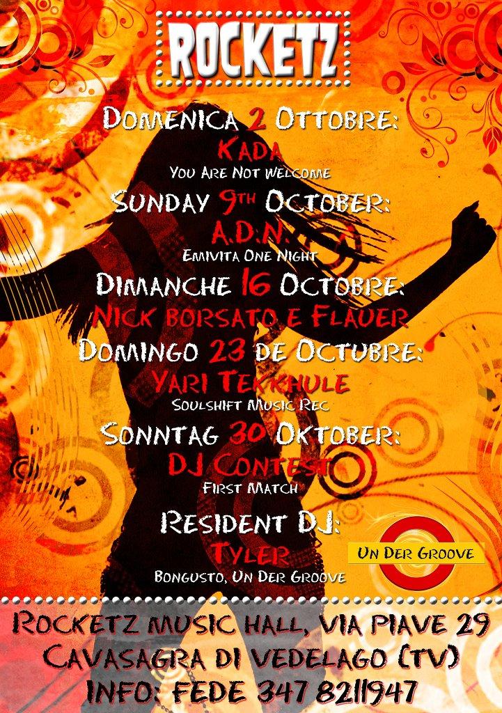 Ogni Domenica - Aperitivo & Deep House - Spritz A Un Euro Fino Alle 20:00 - Flyer back