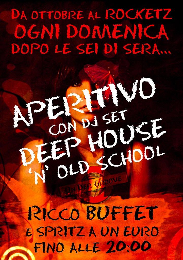 Ogni Domenica - Aperitivo & Deep House - Spritz A Un Euro Fino Alle 20:00 - Flyer front