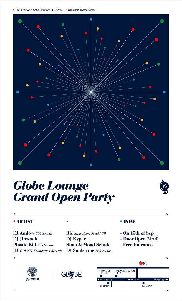 Grand Open Party - Flyer front