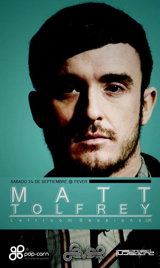 Matt Tolfrey - Flyer front