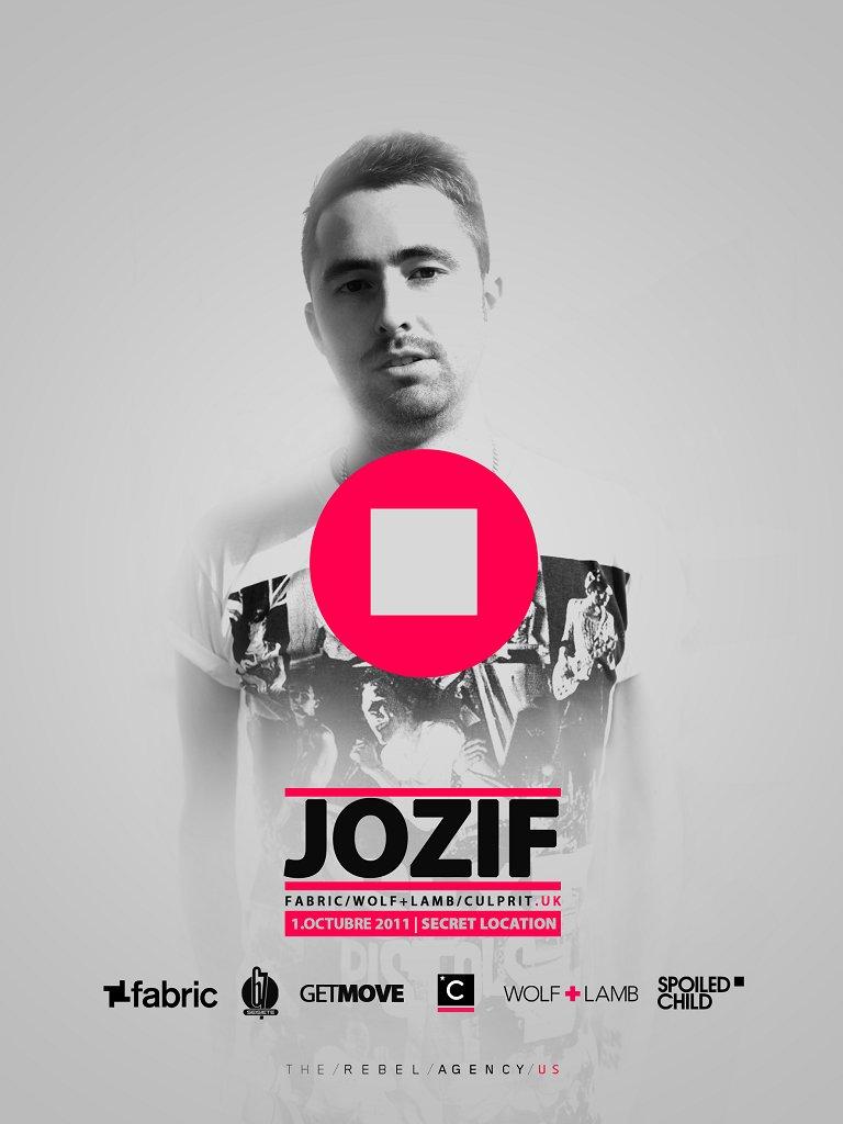 Jozif / Secret Party - Flyer front