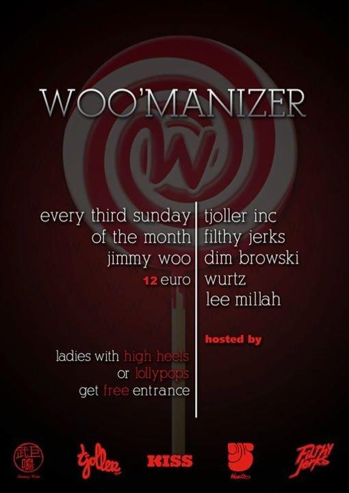 Woo'Manizer - Flyer front