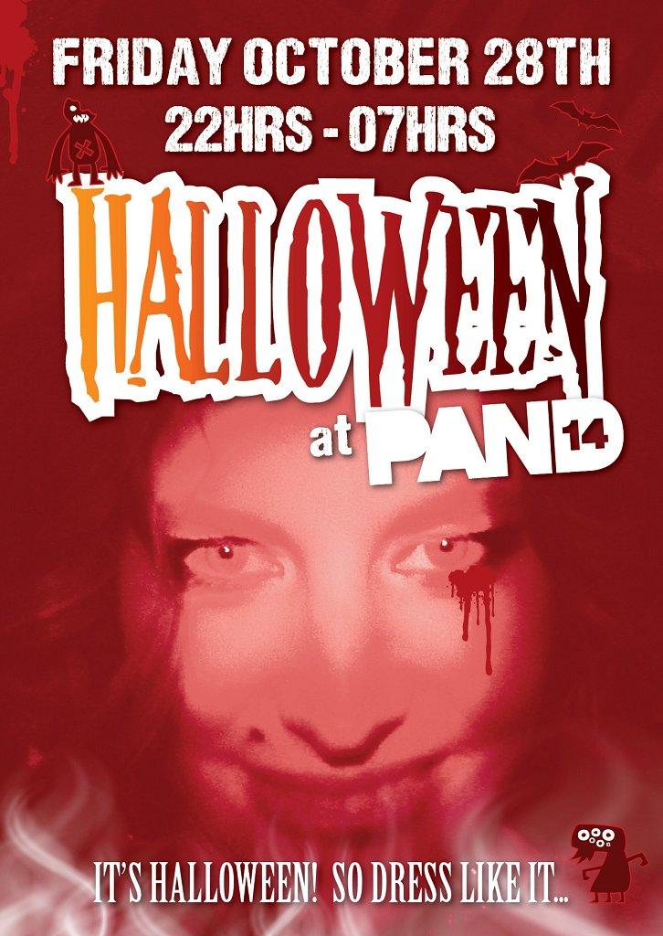 Halloween: Incl. Olene Kadar: Friday.28.10.11: Till 07hrs - Flyer front