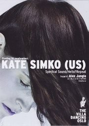 Kate Simko and Alex Jangle - Flyer front