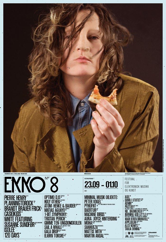 Ekko Festival: Tarjei Nygård, Admir - Flyer front
