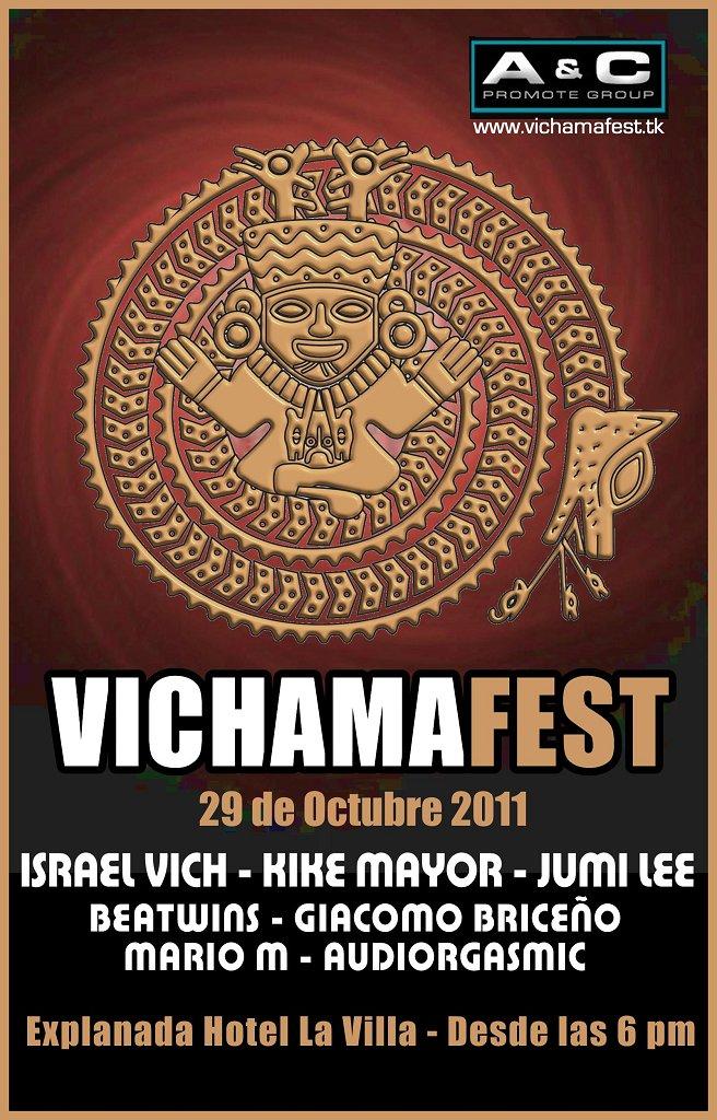 Vichama Fest - Flyer front