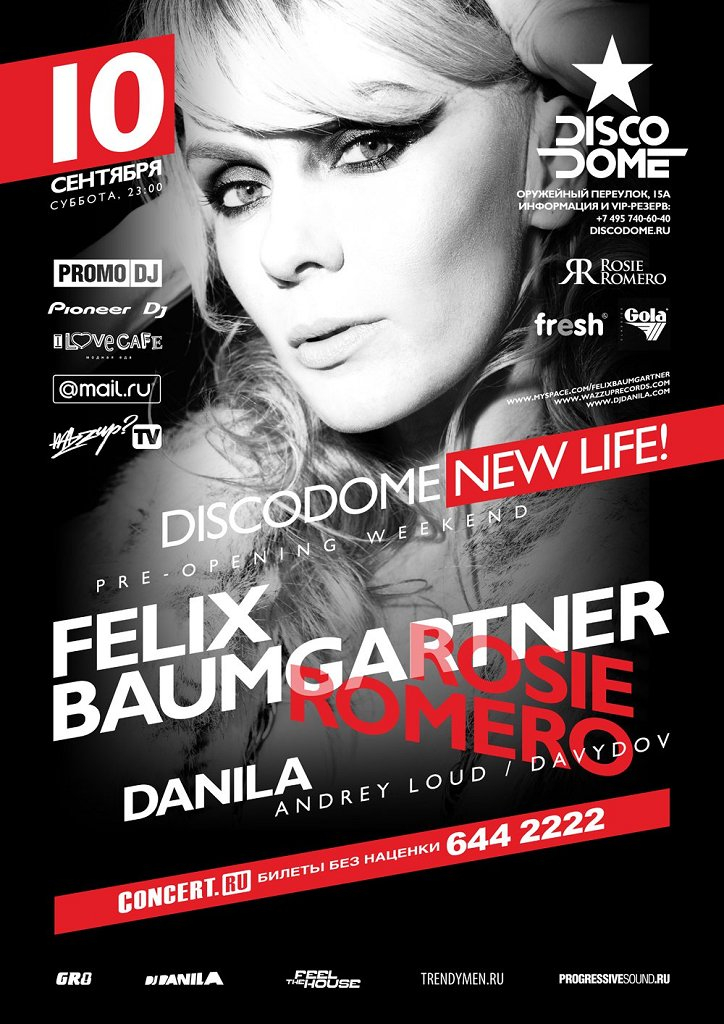 New Life -pre-Opening Weekend - Flyer front