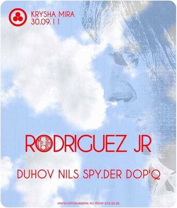 Rodriguez Jr - Flyer front