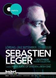 City To City Pres. Sebastien Leger - Flyer front