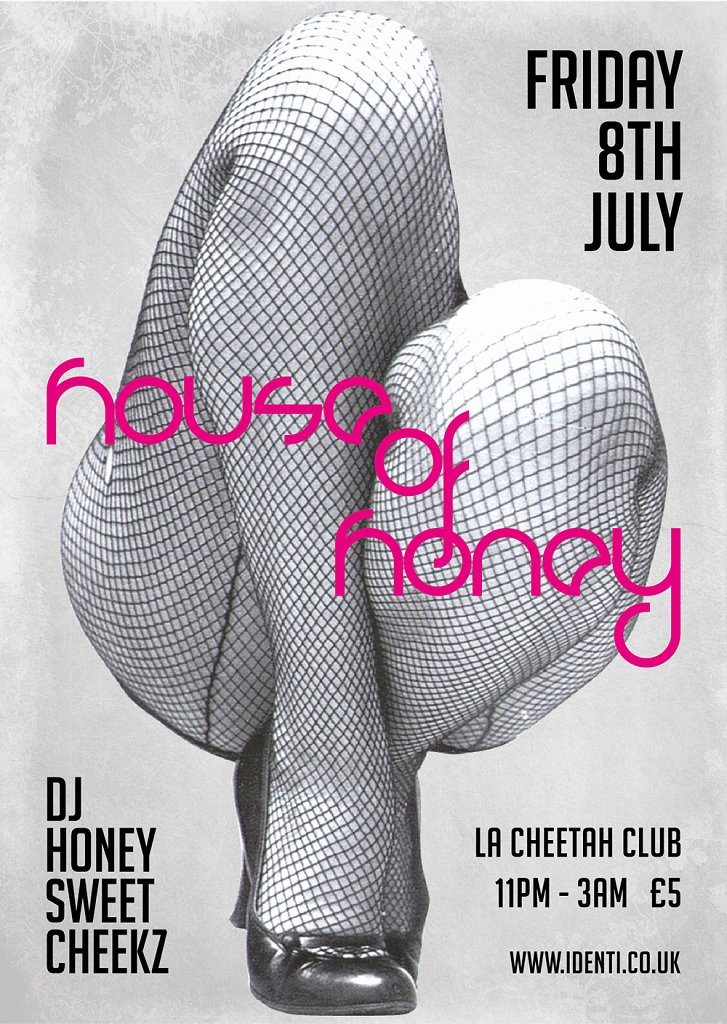 House Of Honey In The Wild - Flyer front