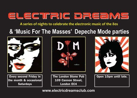 Electric Dreams - Flyer front