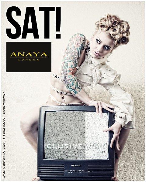 Saturdays - Flyer front