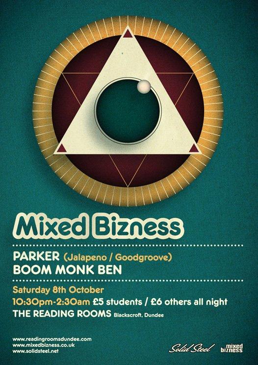Mixed Bizness - Flyer front